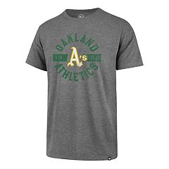 Men's '47 Brand Oakland Athletics Rival Round About Tee