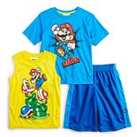 Boys 4-7 Super Mario Bros. Tee Tank & Shorts Set
