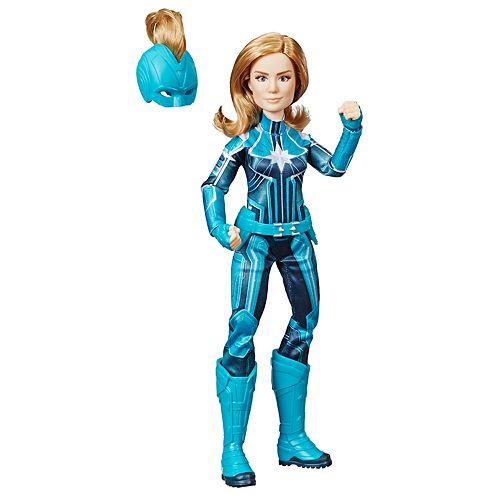 Hasbro Marvel Captain Marvel Starforce Super Hero Doll