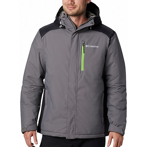 Big & Tall Columbia Tipton Peak Omni-Tech Waterproof Hooded Jacket