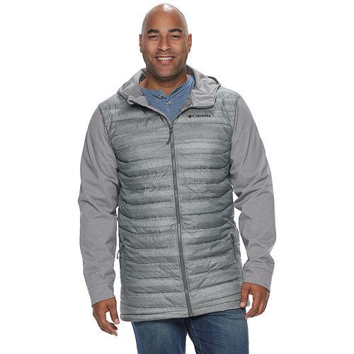 Big & Tall Columbia Powder Lite Omni-Heat Hooded Hybrid Jacket