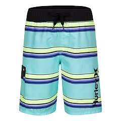 Boys 4-7 Hurley Striped Cargo Boardshorts