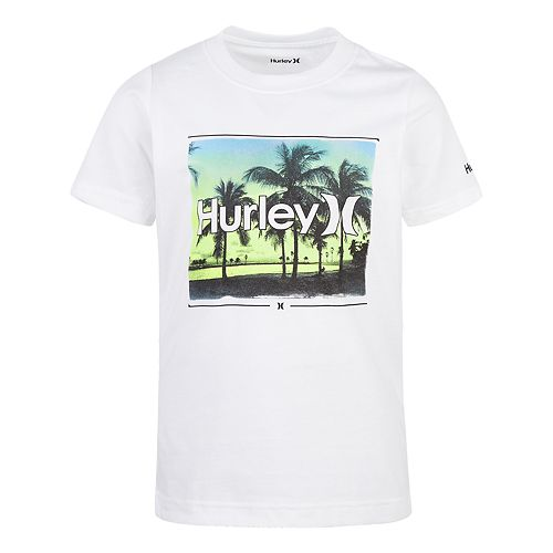 Boys 4-7 Hurley Open Mind Palm Trees Graphic Tee