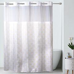 Hookless Prism Shower Curtain & Liner
