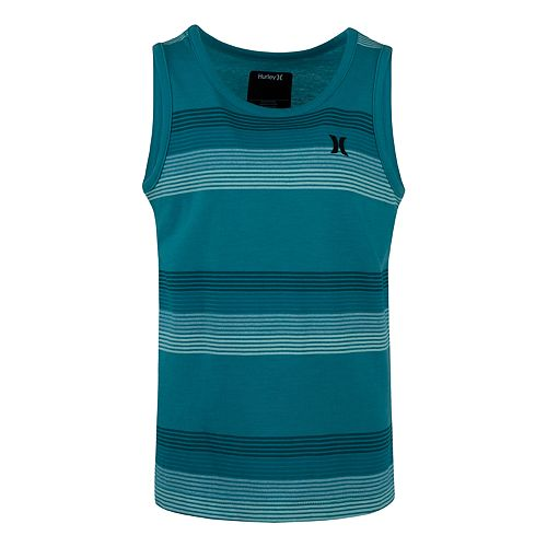 Boys 4-7 Hurley Ombre Striped Muscle Tee