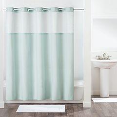Hookless Antigo Shower Curtain & Liner