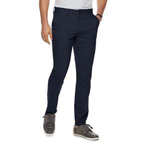 Men's Apt. 9® Straight-Fit Pindot Pants