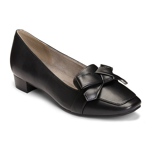 A2 by Aerosoles Women's Runaway Bow Loafer Pumps