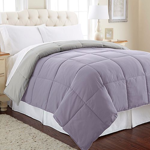 Down-Alternative Reversible Comforter