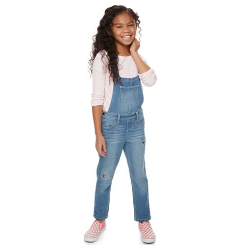 Girls 4-12 SONOMA Goods for Life™ Denim Overalls