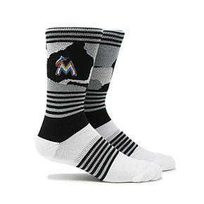 Miami Marlins Camouflage Crew Socks