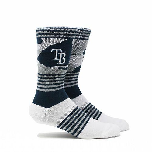 Tampa Bay Rays Camouflage Crew Socks
