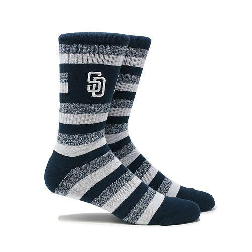 San Diego Padres Steps Crew Socks