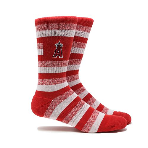 Los Angeles Angels of Anaheim Stacked Crew Socks