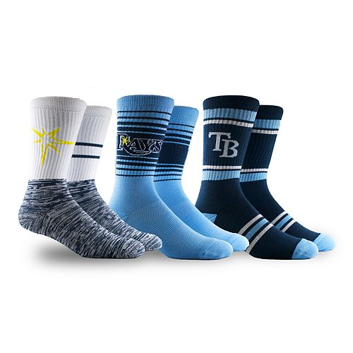 Tampa Bay Rays 3-Pack Crew Socks
