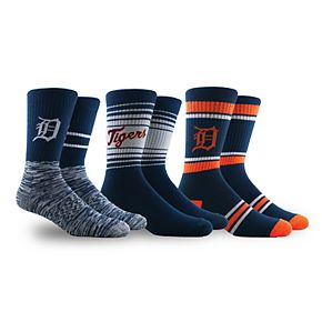 Detroit Tigers 3-Pack Crew Socks