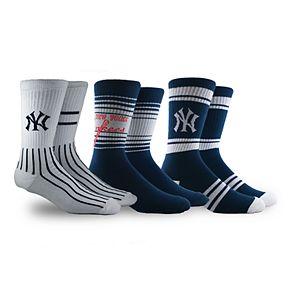 New York Yankees 3-Pack Crew Socks