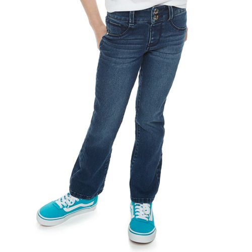 Girls 4-12 SONOMA Goods for Life™ Stretch Flare Jeans