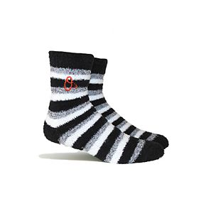 Baltimore Orioles Fuzzy Socks