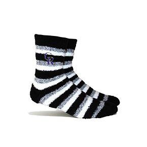 Colorado Rockies Fuzzy Socks