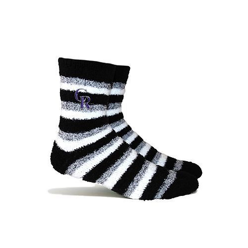 Colorado Rockies Fuzzy Socks