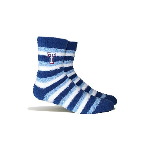 Texas Rangers Fuzzy Socks