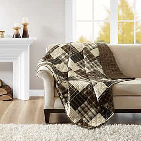 Madison Park Heavenly Reversible Oversized Quilted Throw
