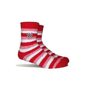 Washington Nationals Fuzzy Socks