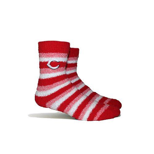 Cincinnati Reds Fuzzy Socks