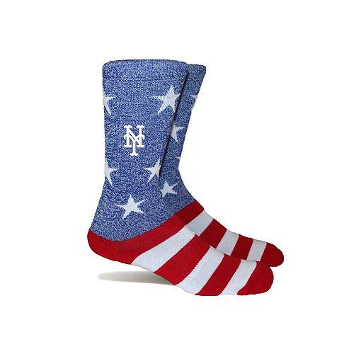 New York Mets Patriotic Socks