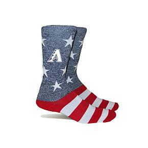 Arizona Diamondbacks Patriotic Socks