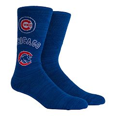 Chicago Cubs Stacked Crew Socks