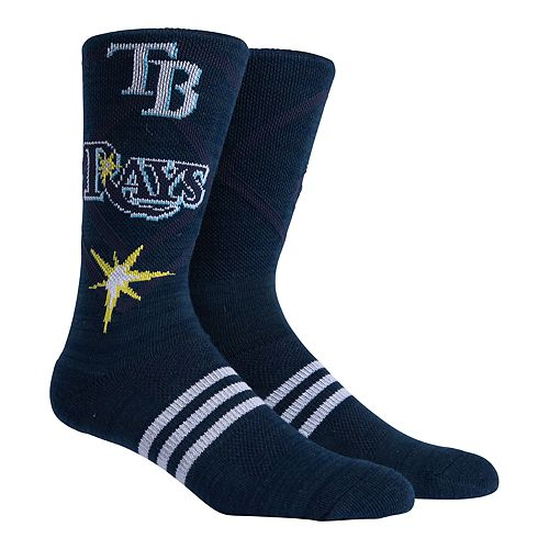 Tampa Bay Rays Stacked Crew Socks