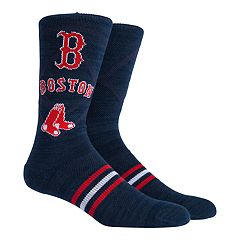 Boston Red Sox Stacked Crew Socks