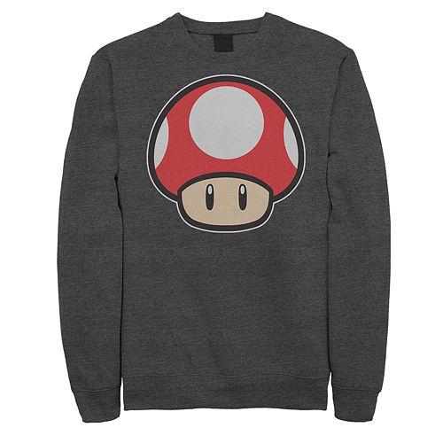 Men's Nintendo Mushroom Power Up Sweatshirt