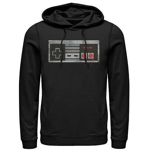 Men's Nintendo Controller Pullover Hoodie