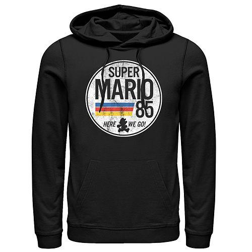 Men's Super Mario Pullover Hoodie