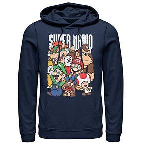 Men's Nintendo Super Group Pullover