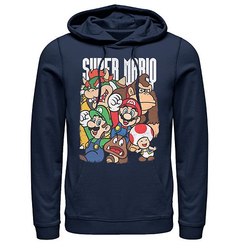 Men's Nintendo Super Group Pullover