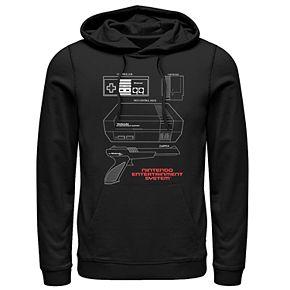 Men's Nintendo Pullover Hoodie