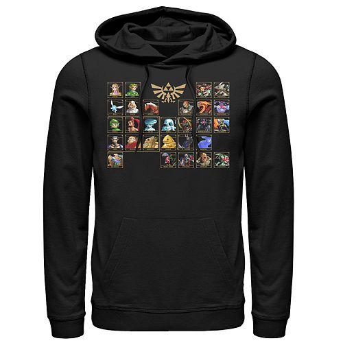 Men's Nintendo Ocarina Table Pullover Hoodie