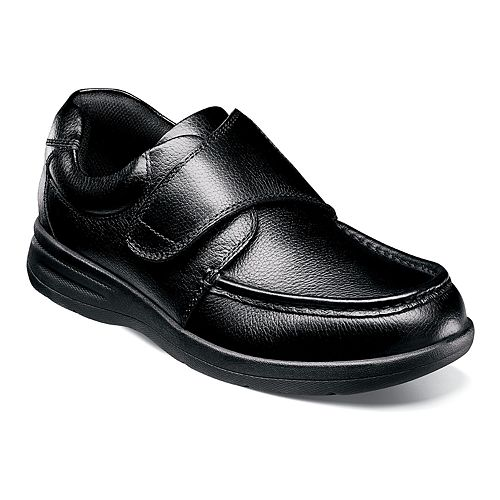 Nunn Bush Cam Strap Men's Moc Toe Casual Shoe