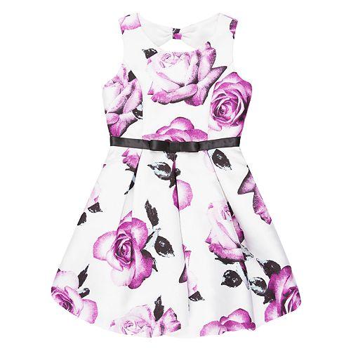 Girls 7-16 Speechless Floral Print Bubble Dress