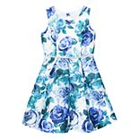 Girls 7-16 Speechless Floral Print Bubble Dress