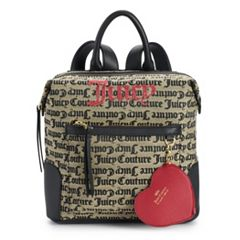 Juicy Couture Popout Logo & Heart Mini Backpack