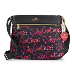 Juicy Couture City Excursion Logo Crossbody Bag