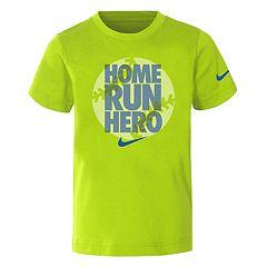 Boys 4-7 Nike 'Home Run Hero' Dri-FIT Graphic Tee