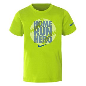 "Boys 4-7 Nike ""Home Run Hero"" Dri-FIT Graphic Tee"