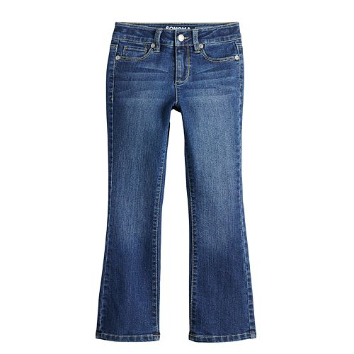Girls 4-12 SONOMA Goods for Life™ Slim Bootcut Jeans