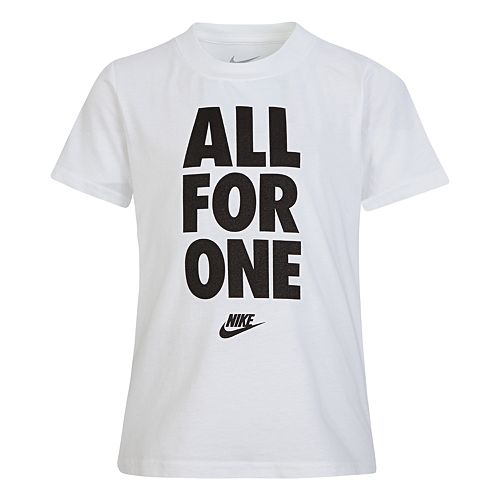 "Boys 4-7 Nike ""All For One"" Graphic Tee"